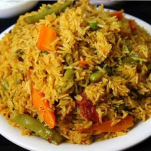 Vegetable-Biriyani